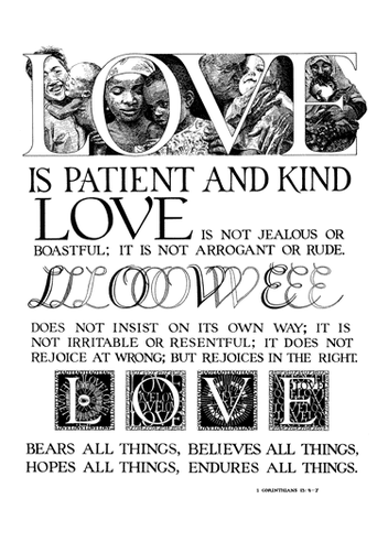Love is Patient & Kind
