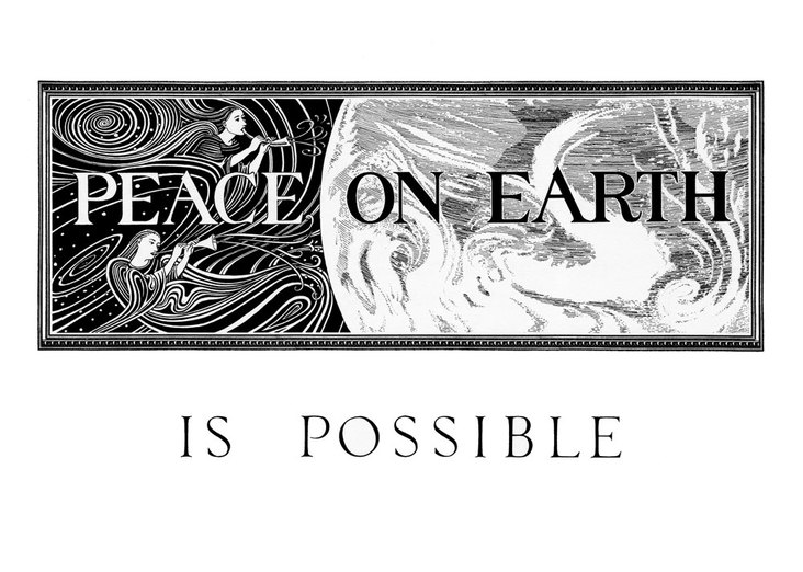 Peace on earth is Possible poster