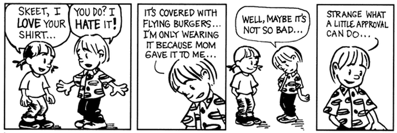 flying burgers cartoon