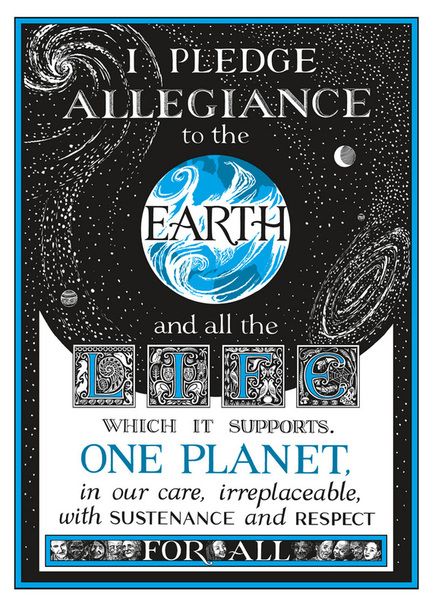 Earth Pledge poster